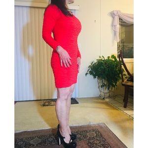Dresses & Skirts - Red Mini Dress